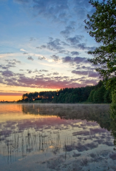 "фото ""Раннее утро"" метки: пейзаж, закат"