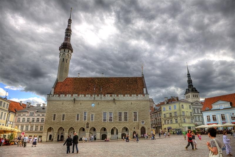 "photo ""Tallinn. Old square"" tags: travel, city, Europe"