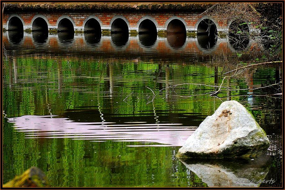 """фото """"the bridge"""" метки: архитектура, пейзаж, вода"""