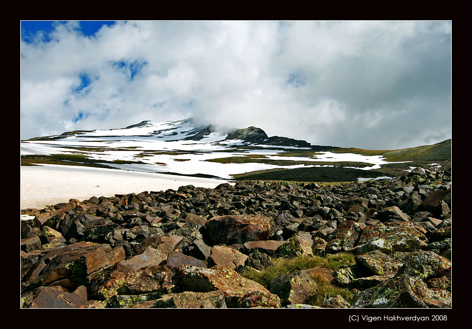 """photo """"Stones of Aragats"""" tags: landscape, travel, mountains"""