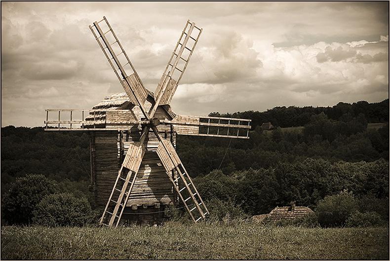 "фото ""Старая мельница"" метки: архитектура, разное, пейзаж,"