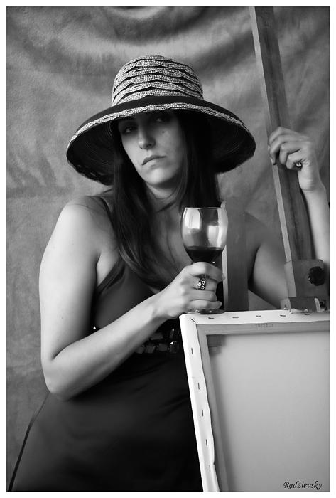 """фото """"Portrait of a Lady in a Hat"""" метки: портрет, женщина"""