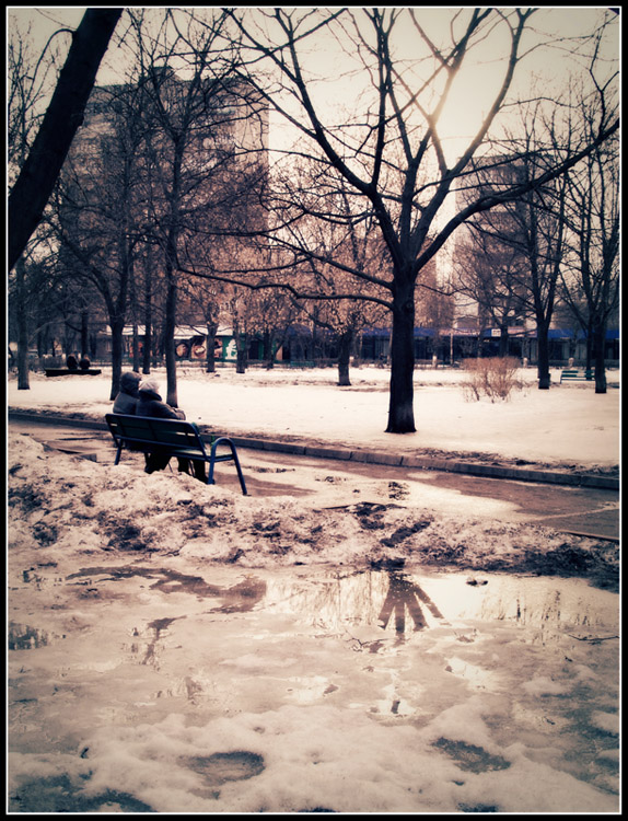 """photo """"***"""" tags: landscape, old-time, winter"""