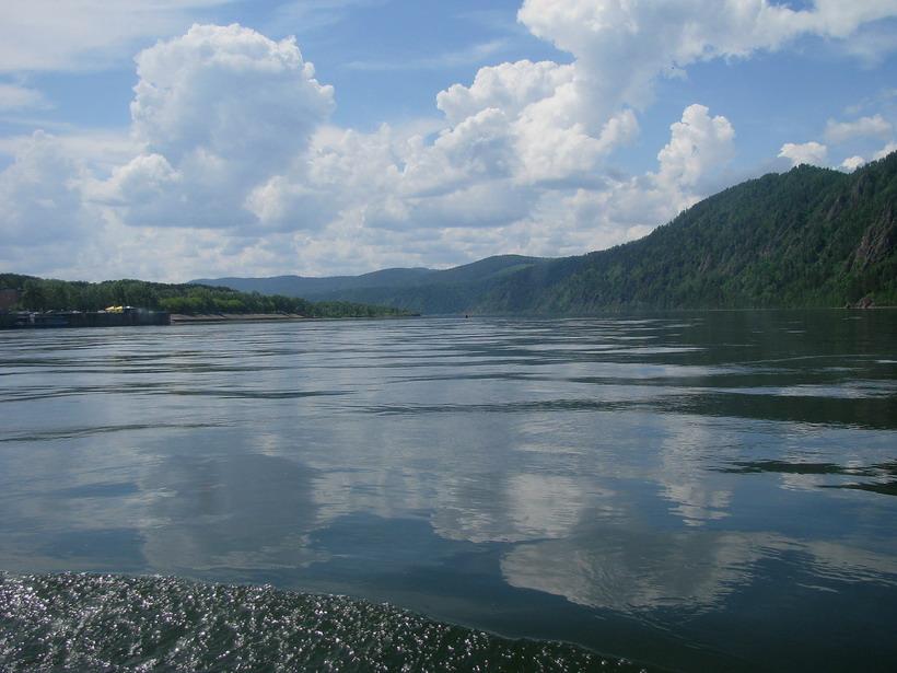 """фото """"Енисей"""" метки: пейзаж, вода"""