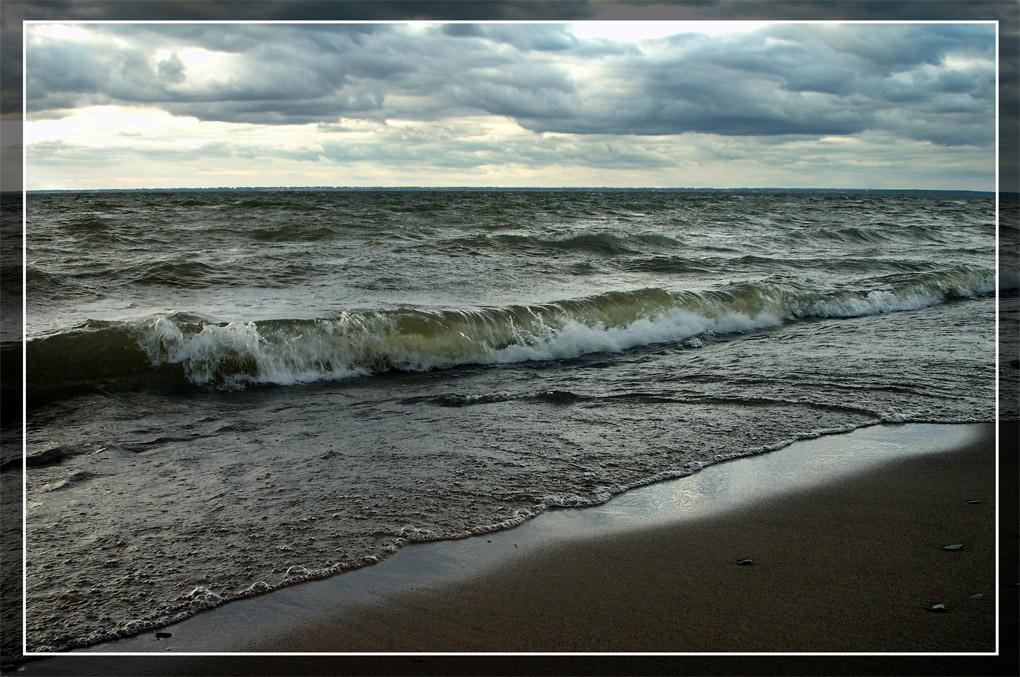 "фото ""Хмурая вода."" метки: пейзаж, вода, осень"