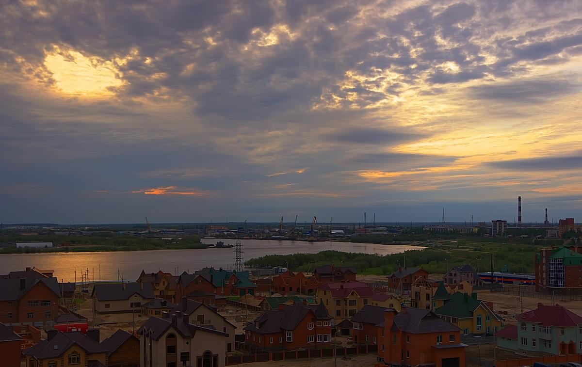 """фото """"Вечерняя"""" метки: пейзаж, закат"""