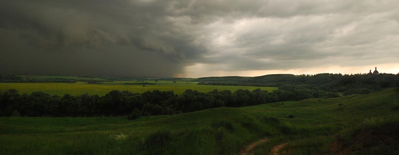"""фото """"Буря мглою...#"""" метки: пейзаж, панорама, лето"""