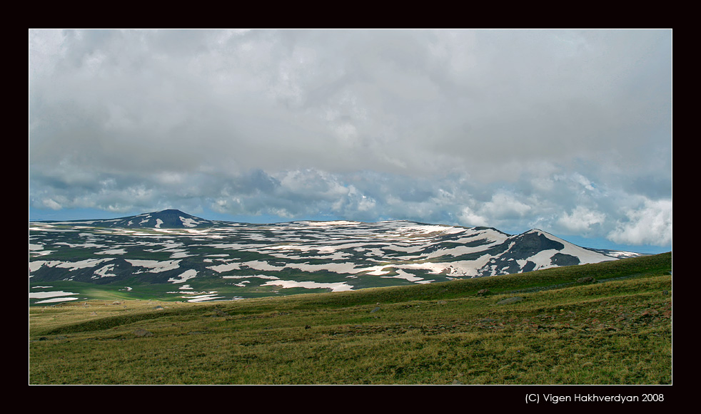 """photo """"Hills of Aragats"""" tags: landscape, travel, mountains"""