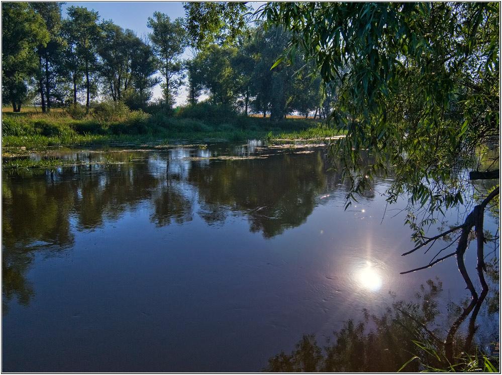 "фото ""и снова утро"" метки: пейзаж, вода"