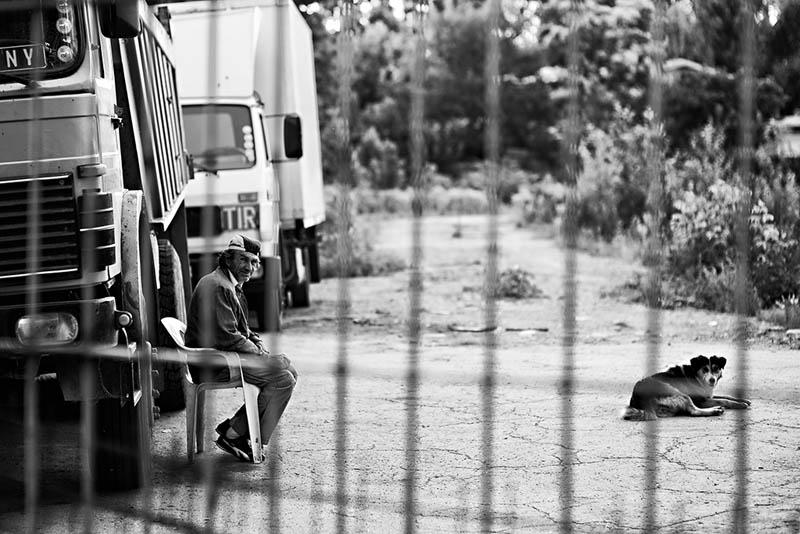"фото ""The Gatekeepers"" метки: черно-белые, город,"
