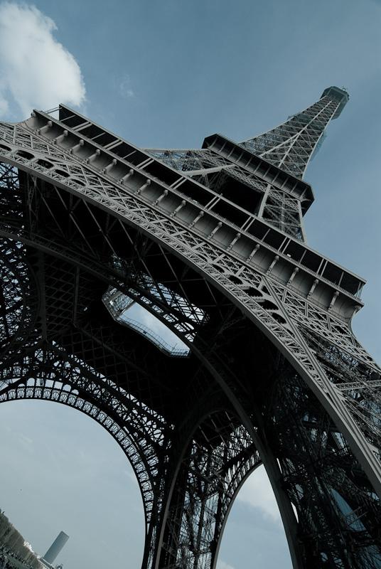 """фото """"La Tour Eiffel"""" метки: архитектура, город, пейзаж,"""