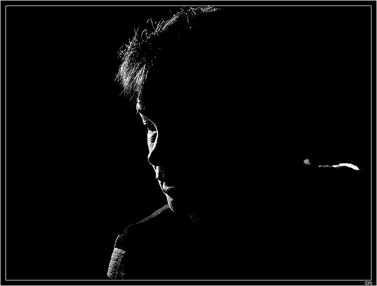 """photo """"*****"""" tags: portrait, black&white,"""