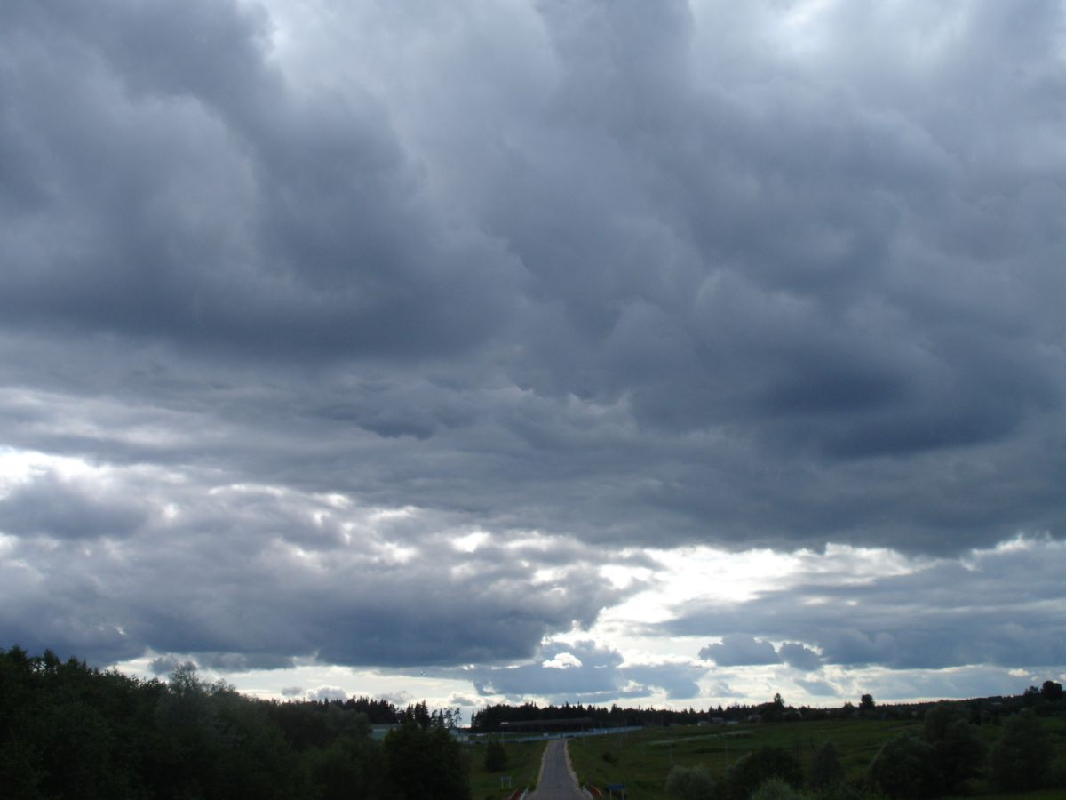 "photo ""Way to the heaven"" tags: landscape, clouds, summer"