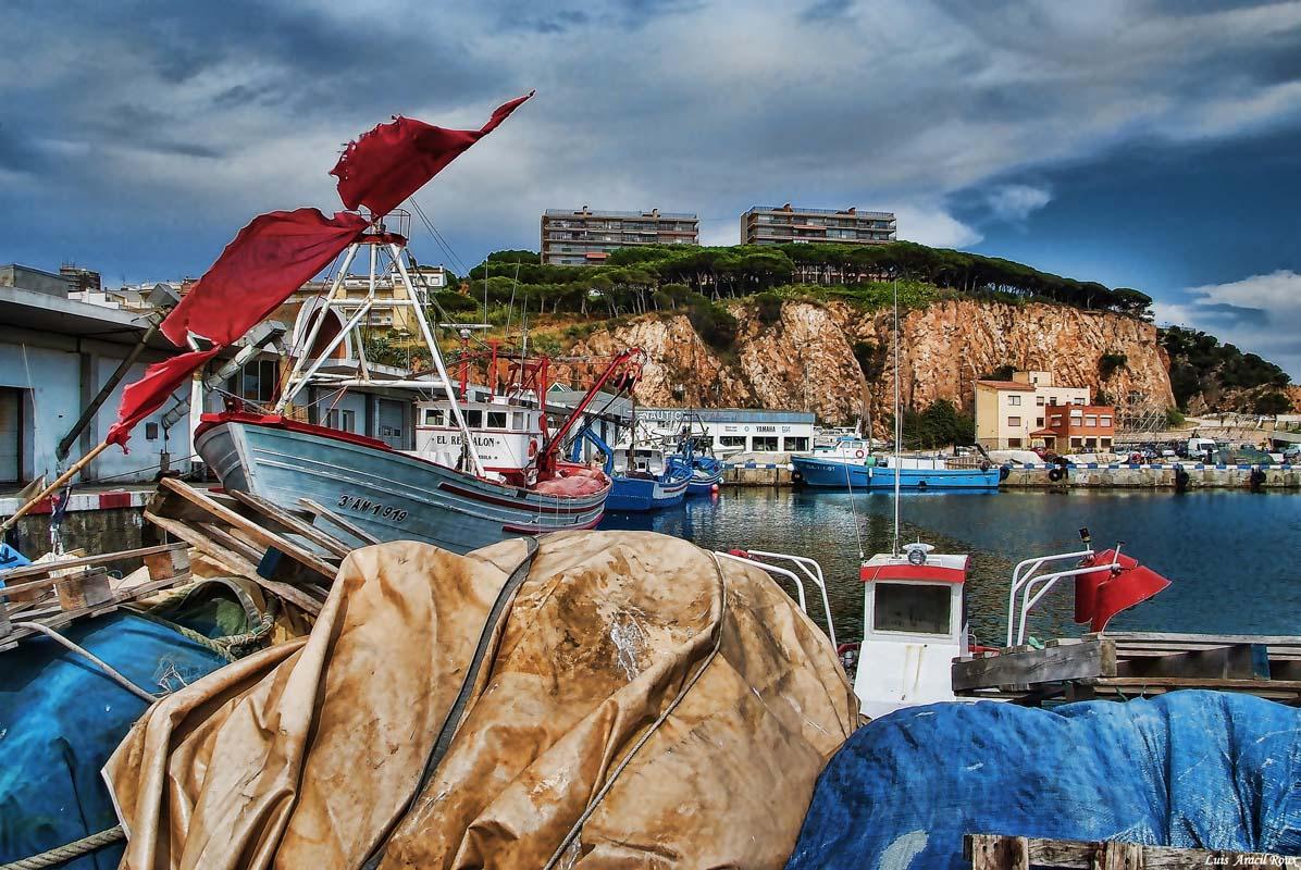 """фото """"puerto de pesquero"""" метки: пейзаж, вода"""