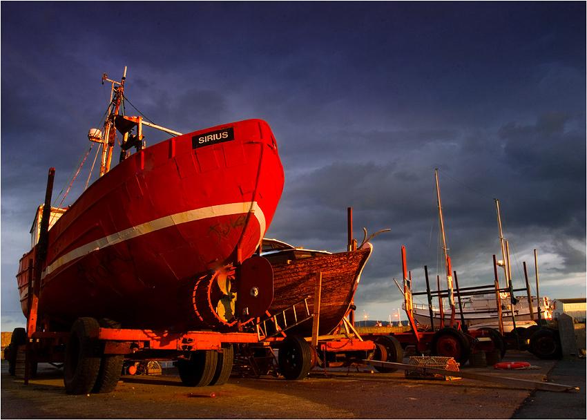 "photo ""Sunset at Carric Marina"" tags: landscape,"