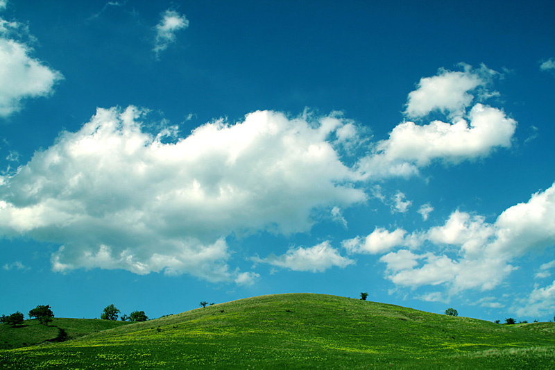 "photo ""Spring time"" tags: landscape, clouds, spring"