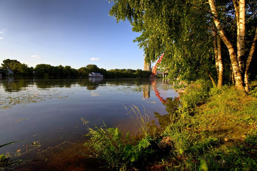 """фото """"Это тоже Москва..."""" метки: пейзаж, город, вода"""