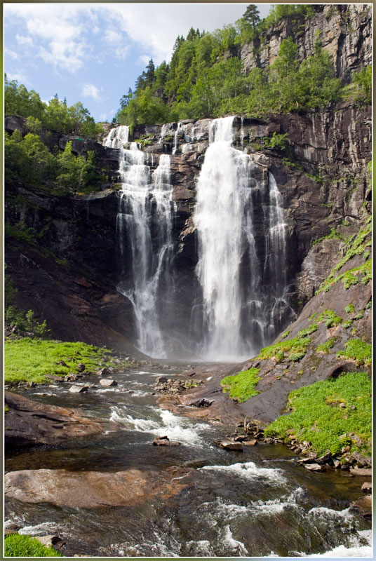 "photo ""From a series ""Falls of Norway"""" tags: travel, landscape, Europe, water"