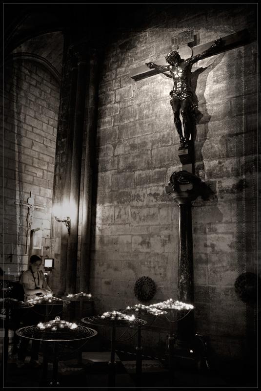 """photo """"Notre Dame de Paris"""" tags: interior,"""