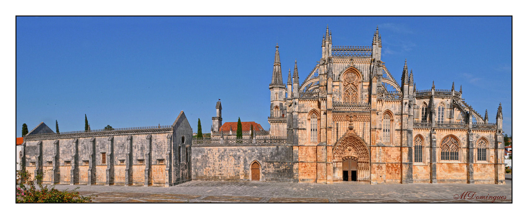 "photo ""Batalha Monastery"" tags: architecture, landscape,"
