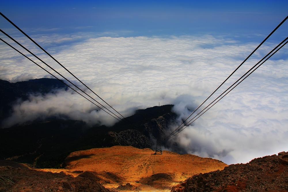 "фото ""В облака...."" метки: пейзаж, горы, облака"