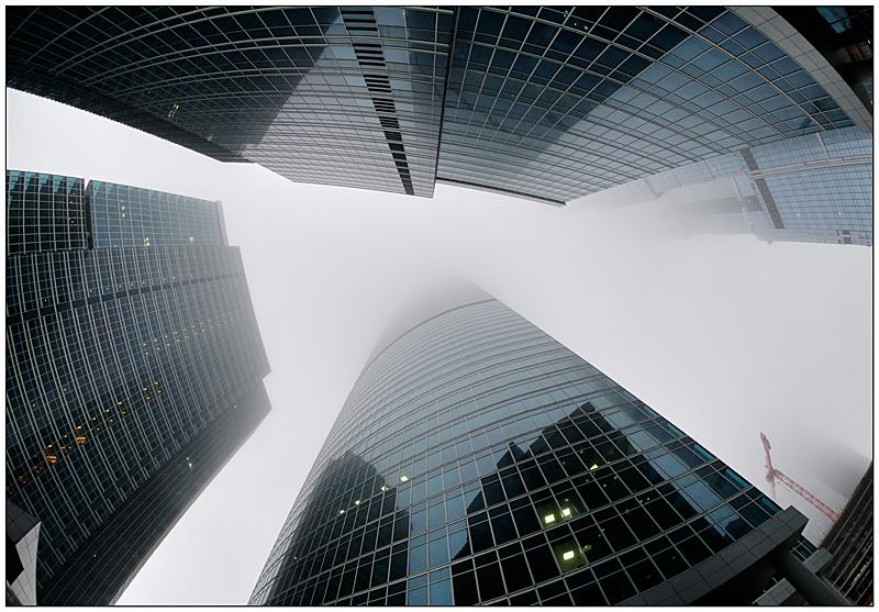 """фото """"Туман-Сити II"""" метки: архитектура, город, пейзаж,"""