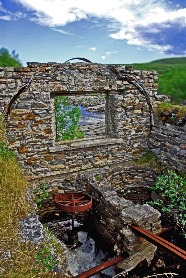 "фото ""Старая мельница"" метки: архитектура, пейзаж,"