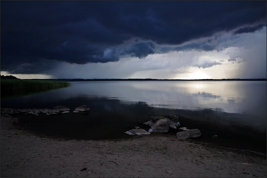 "photo ""Before the thunderstorm"" tags: landscape, water"