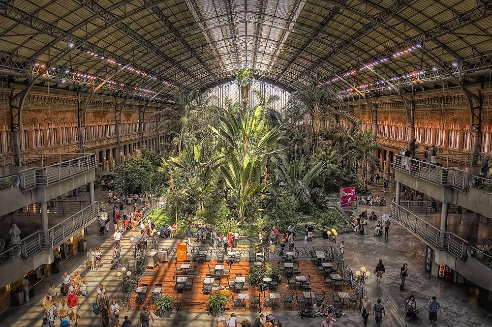 """фото """"MADRID. ATOCHA."""" метки: архитектура, путешествия, пейзаж, Европа"""