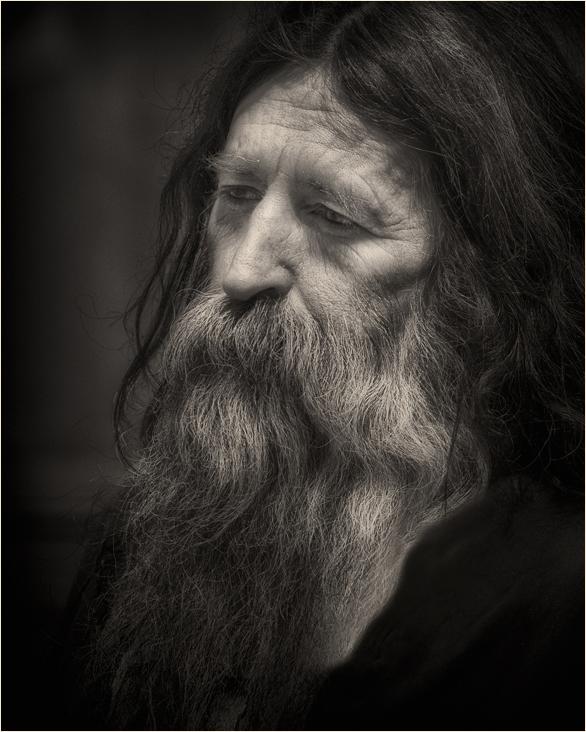 "фото ""Апостол"" метки: портрет, черно-белые, мужчина"