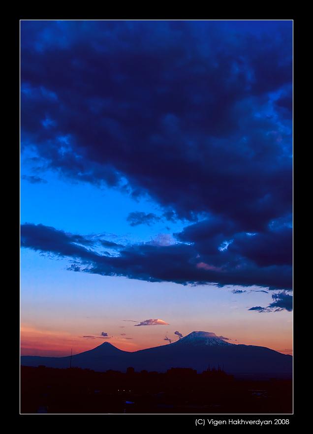 """фото """"Величественный Арарат"""" метки: пейзаж, горы"""