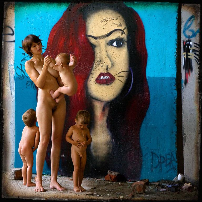 "photo ""POP ART"" tags: nude, genre,"