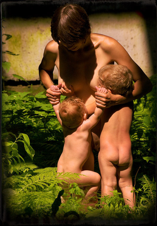 "photo ""Romulus and Remus"" tags: nude, genre,"