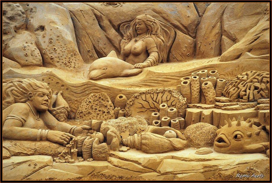 """фото """"sand sculpture"""" метки: фрагмент, репортаж,"""