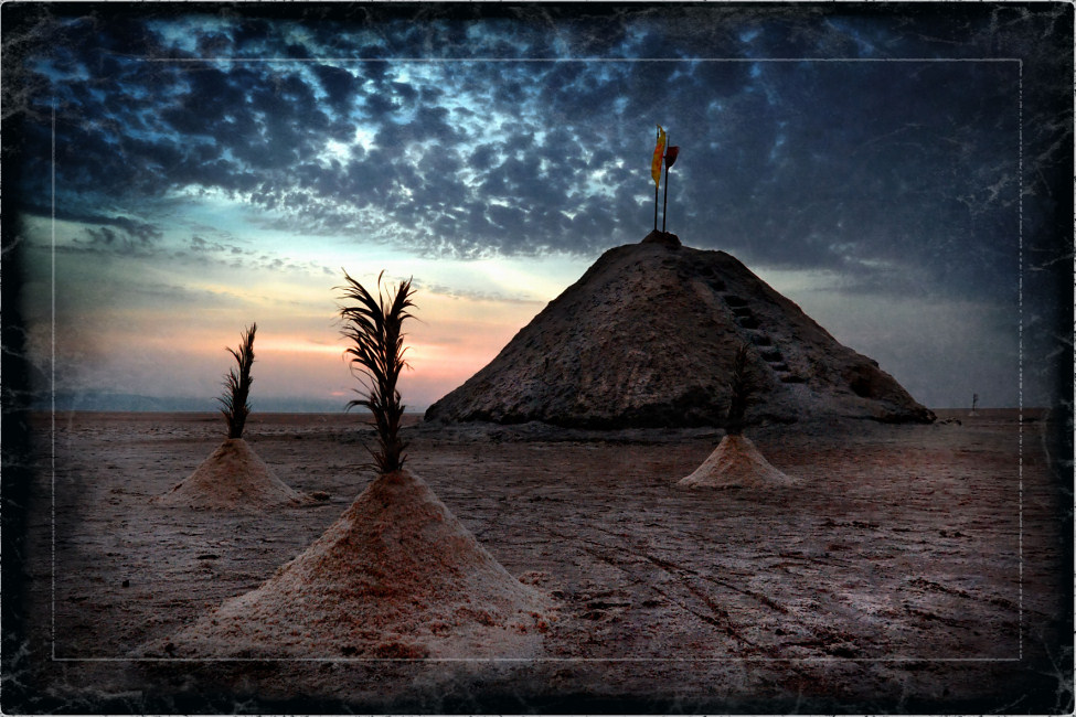 "photo ""Chott el Jerid"" tags: landscape, travel, Africa"