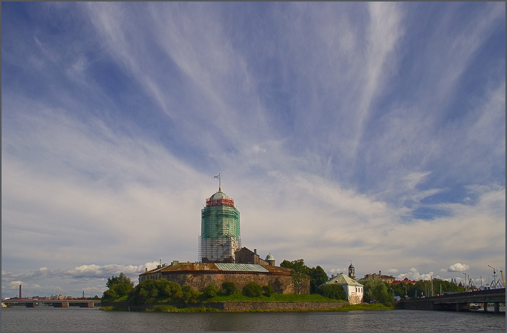 "photo ""Summer in Vyborg."" tags: architecture, landscape,"