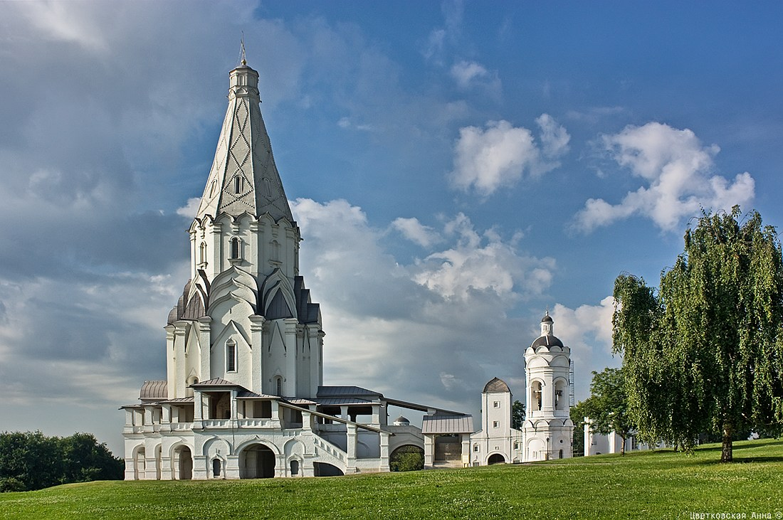 """фото """"Утром в Коломенском..)"""" метки: архитектура, пейзаж, храм"""