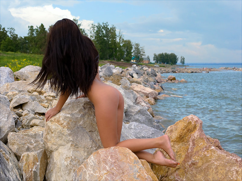 "photo ""Andrew Wyeth Christina's World"" tags: nude, landscape, summer"