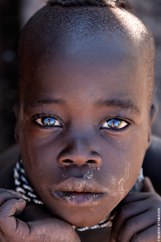 "photo ""Himba"" tags: portrait, travel, Africa, children"