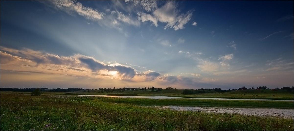 "фото ""Вечер трудного дня ..."" метки: пейзаж, закат"
