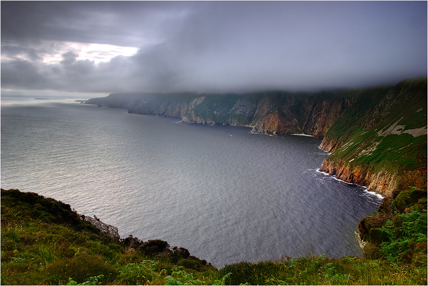 "photo ""Donegal Cliffs"" tags: landscape,"