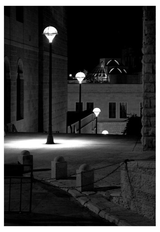 """photo """"Jerusalem's lights"""" tags: city, architecture, landscape,"""