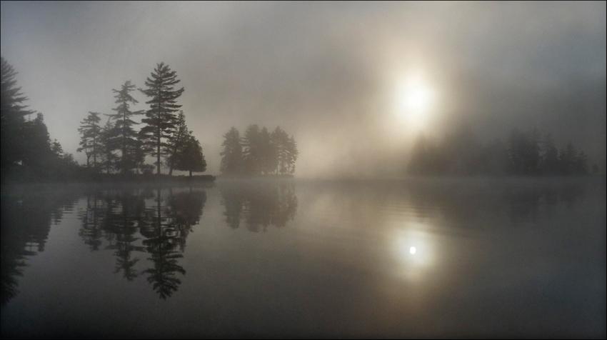 """фото """"На озере"""" метки: пейзаж, закат"""