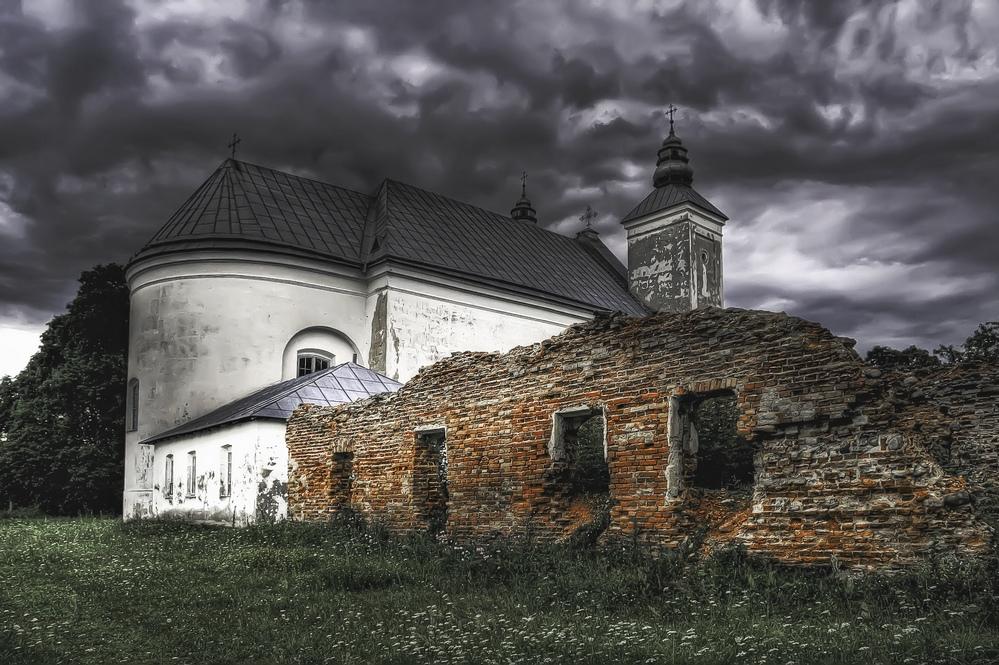 "фото ""Троицкий костел"" метки: архитектура, пейзаж,"