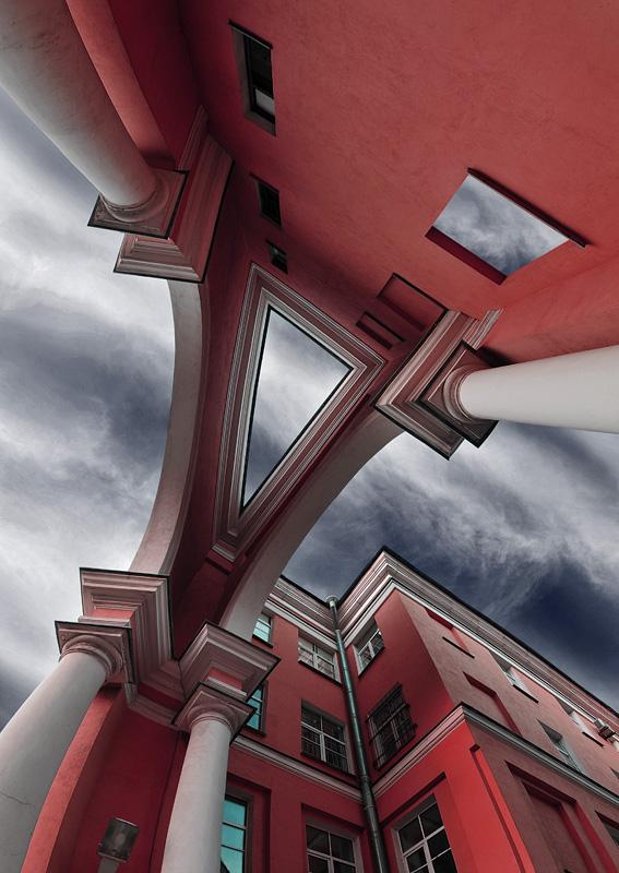 """фото """"из серии """"Питерские дворы"""""""" метки: архитектура, город, пейзаж,"""