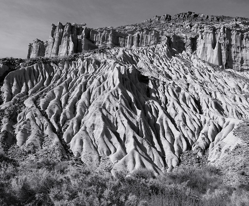"photo ""Erosion Features"" tags: landscape, travel, North America"