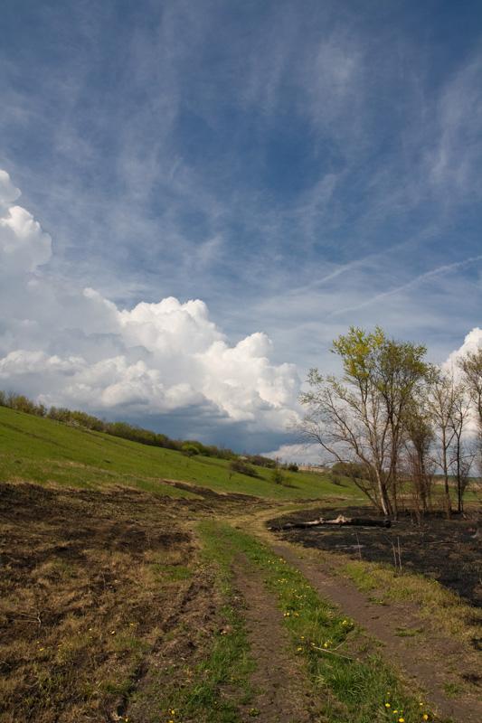 """фото """"Из-за бугра"""" метки: пейзаж, облака"""