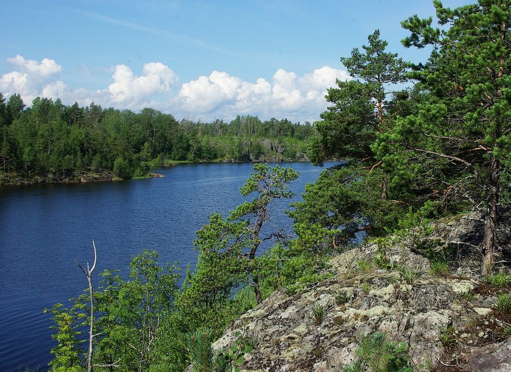 "photo ""Karelia. Bay Kocherga"" tags: landscape, travel, Europe, mountains"