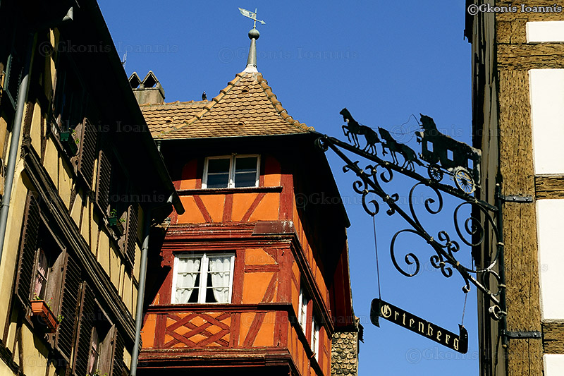 "photo ""Half Timbered Houses"" tags: travel, city, Europe"