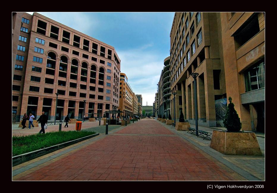 """photo """"Walks along Erevan"""" tags: architecture, city, landscape,"""